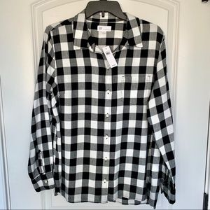 Women's Gap NWT Button Front Shirt Blouse 👚